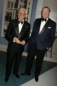 Celebrity Wax Model George Burns and Bob Hope at the Grand Opening of Madame Tussauds Wax Museum Hollywood. Madame Tussauds Wax Museum Hollywood, Hollywood, CA. 07-21-09
