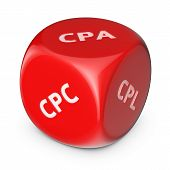 foto of cpa  - Internet marketing concept - JPG