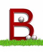 Alphabet Baseball B