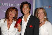 Dr. Gilbert Lee and Dianne York Goldman  at the NBC Universal 2009 All Star Party. Langham Huntington Hotel, Pasadena, CA. 08-05-09