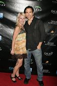 Lucy Rendler-Kaplan and William Dorfman  at the Reality Cares Leap Foundation Benefit. Sunstyle Tanning Studio, West Hollywood, CA. 08-06-09