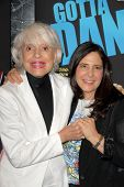 Carol Channing and Dori Berinstein at the Los Angeles Premiere of 'Gotta Dance'. Linwood Dunn Theatr