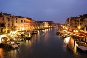 Grand canal at twilight