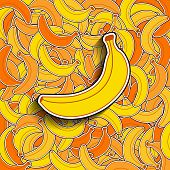 Banana Background