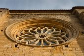 Rose Window Of  Villalcazar De Sirga Church