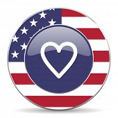 heart american icon