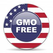 gmo free american icon
