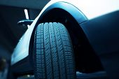 picture of icy road  - New Car Tire  - JPG