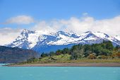 Lago Argentino is a lake in the Patagonian province