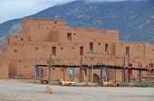 foto of pueblo  - The Taos Pueblo - JPG