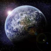 Earth halo illustration