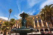 Placa Reial - Barcelona Spain