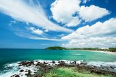 Beautiful beach in Sri Lank