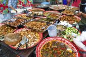 Food Stall In Bangkok Thailand