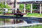 Sewage Water Filtering In Settlers