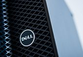 Dell Logo On A Server