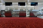 SHENZHEN - APRIL 16: fist class check-in area on April 16, 2014 in Shenzhen, China. Shenzhen Bao'an