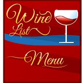 Wine List Menu