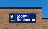 Goodwill Store Exterior Sign