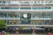 HONG KONG, CHINA - SEPTEMBER 8 2013: Apple Store in the city center on SEPTEMBER 8 2013:, Hong Kong,