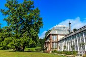 The Big Greenhouse in Kassel in Castle Park, North Hesse, Germany