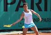 Lourdes Dominguez Lino (esp) At Roland Garros 2010