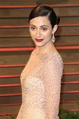 LOS ANGELES - MAR 2:  Emmy Rossum at the 2014 Vanity Fair Oscar Party at the Sunset Boulevard on March 2, 2014 in West Hollywood, CA