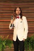 LOS ANGELES - MAR 2:  Jared Leto at the 2014 Vanity Fair Oscar Party at the Sunset Boulevard on March 2, 2014 in West Hollywood, CA