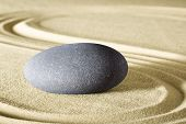 spa wellness background and sheng fui zen meditation garden for balance and harmony