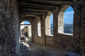Italy, fortress, the medioeval walls,