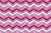Pink Zig Zag Seamless Pattern