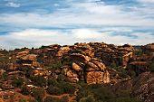 Rock Formations Near Yatagan In Turkey