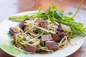 Stir Fired Bean Sprouts With Soy Sauce