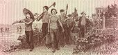 CHINA - CIRCA 1962: Chinese Farmers