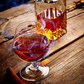 Vintage Cognac Still Life