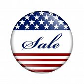Sale Usa Button