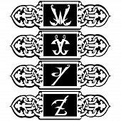A Vector Set Design Elements, Logo, Label, Badge