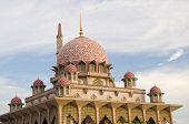 Putrajaya Mosque,landmark Of Malaysia
