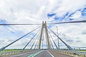 Famous Bridge In Kampen , Netherlands