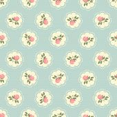 picture of pattern  - Flowers seamless pattern - JPG