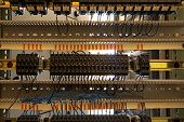 image of contactor  - The old fuses on the control panel