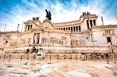 picture of altar  - The Altare della Patria or Altar of the Fatherland - JPG