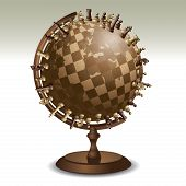 Chess On A Globe