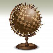 Chess On A Globe