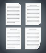 Blank Document Pages