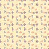 Simple abstract seamless pattern of small spots.