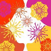 Vibrant Floral Background