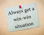 foto of win  - Always Get a Win - JPG