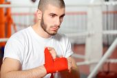 picture of boxing ring  - Kickboxer - JPG
