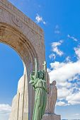 stock photo of 24th  - The Monument aux Mort in Marseille France - JPG
